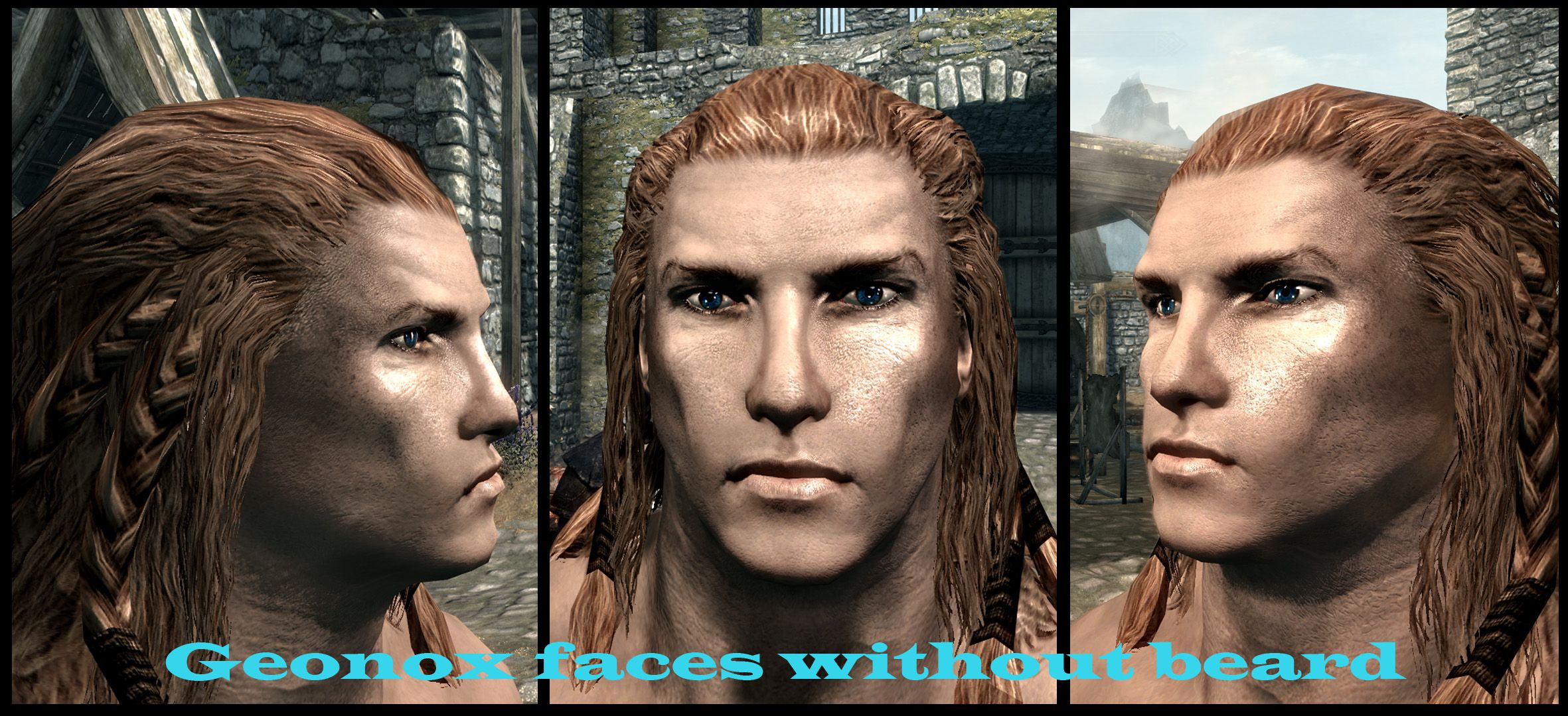 Better Males Beautiful Nudes And Faces New Hairstyles At Skyrim
