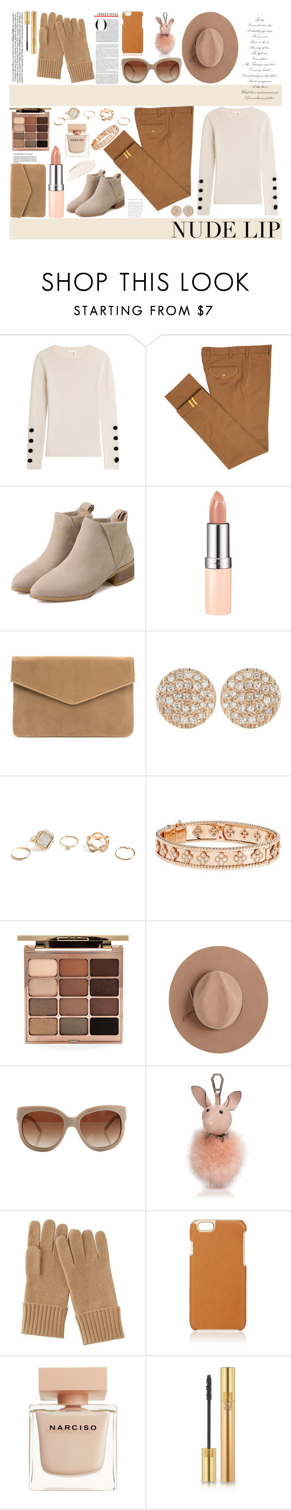 """Senza titolo #5678"" by waikiki24 ❤ liked on Polyvore featuring beauty, See by Chloé, Diverso, Rimmel, Dana Rebecca Designs, GUESS, Van Cleef & Arpels, Stila, Calypso Private Label and STELLA McCARTNEY"