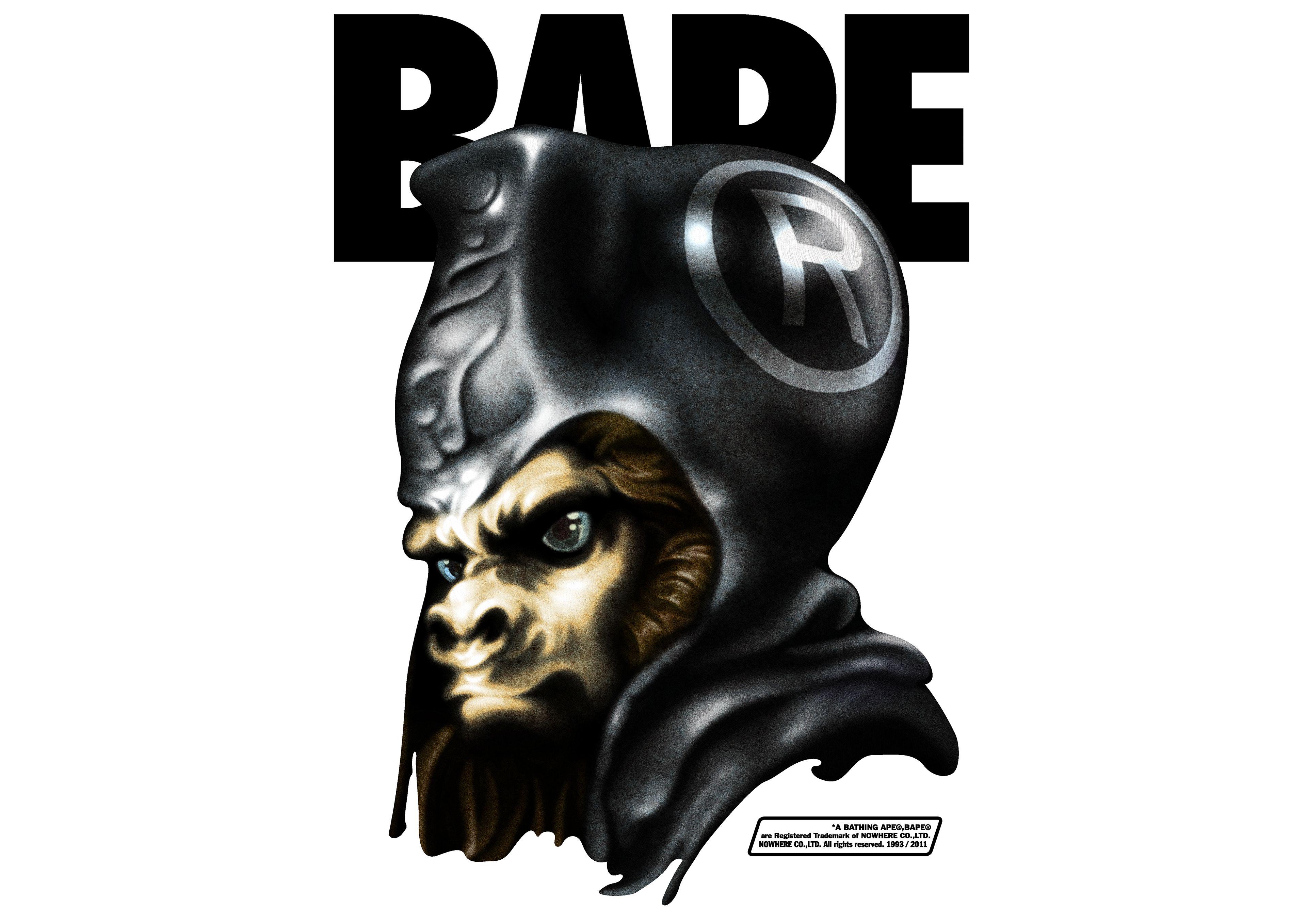 Artwork for japanese fashion label BAPE