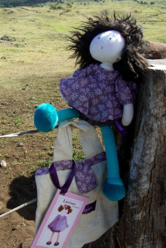 Dollhouses New Louison rag doll