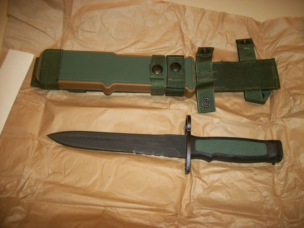 Camillus CAM1A1  Bayonet * NIP *  RARE DISCONTINUED * Camillus NY * NEW * XM8