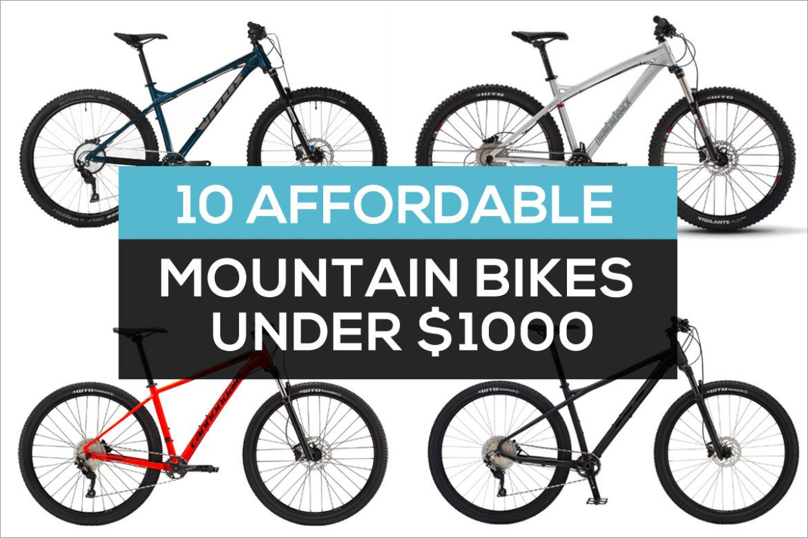 10 Affordable Mountain Bikes Priced Under 1000 That Are Worth A