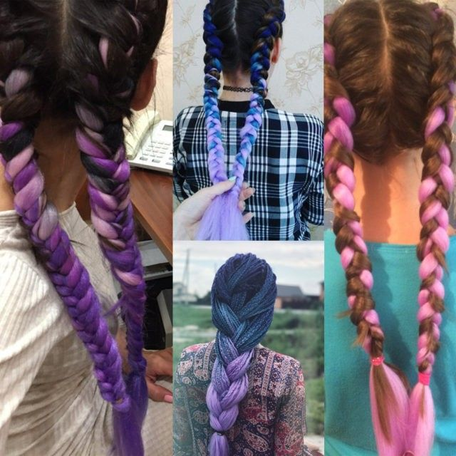 Ombre Color Synthetic Hair Braids - Hair Beauty