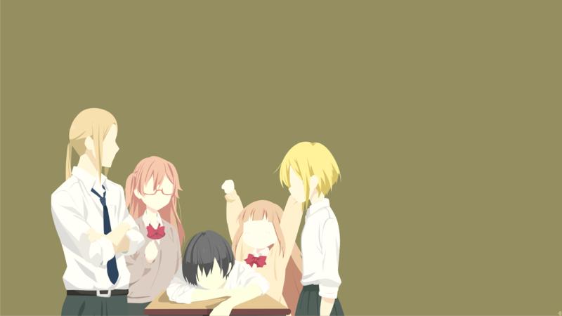 Tanaka/Ohta {Tanaka-kun wa Itsumo Kedaruge} by greenmapple17 on DeviantArt