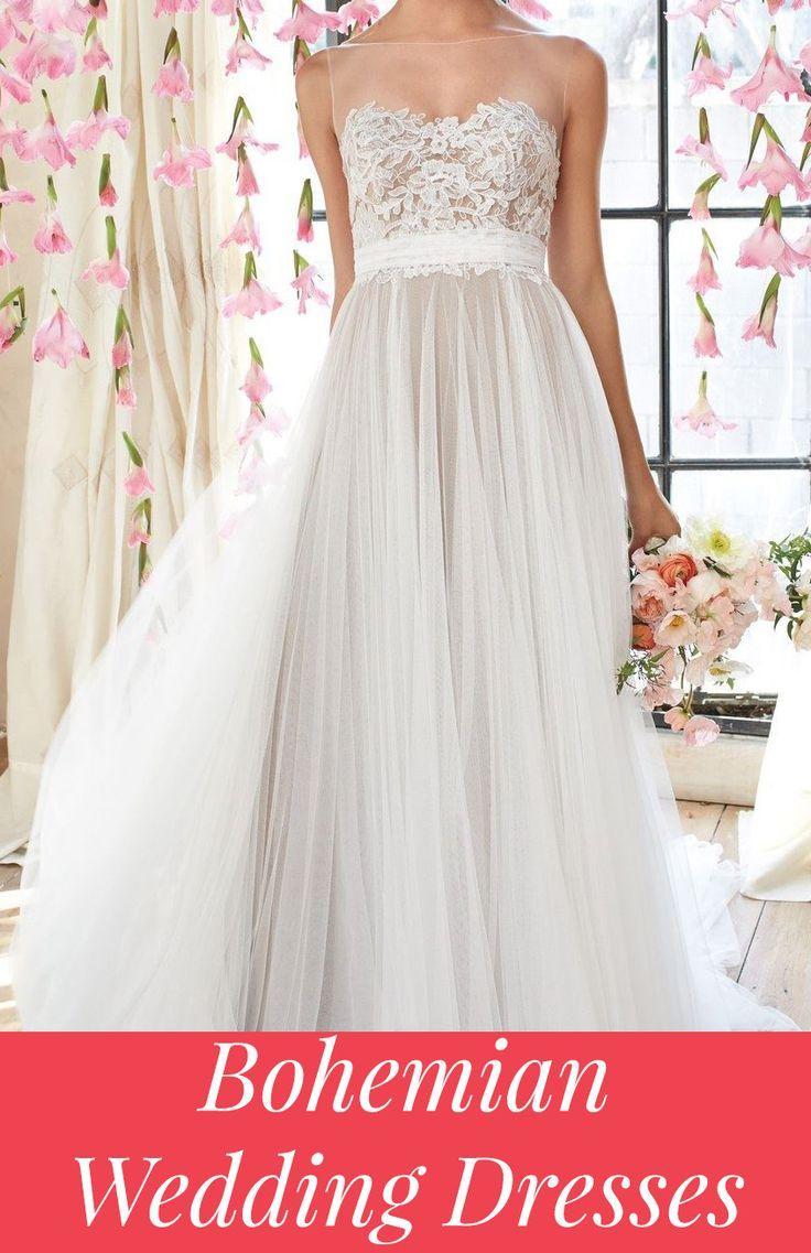 Boho Wedding Dresses & Ideas | happily ever after. | Pinterest ...