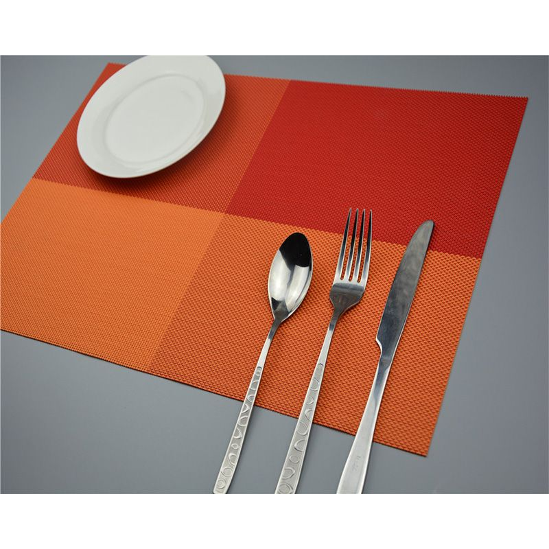 Find More Mats U0026 Pads Information About Plate Mat Lunch Mat PVC 30*49cm  Coaster Set De Table Dining Table Placemats Insulation Kitchen Pads  Coasters Place ...