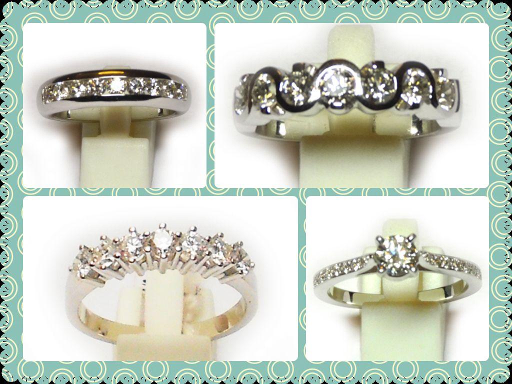 Esta semana descuento del 10% en sortijas de oro y diamantes www.estylos.es
