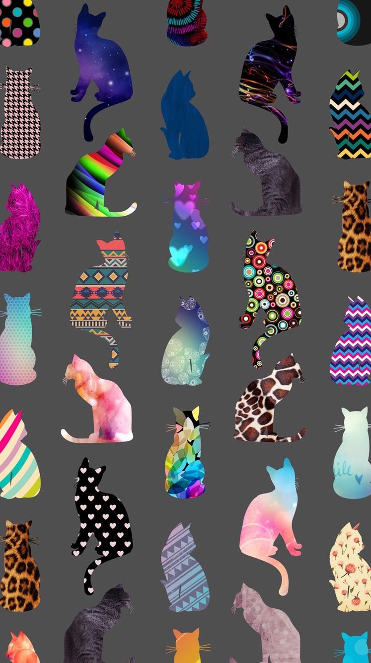 So cute screen savers pinterest cat fashion illustrations