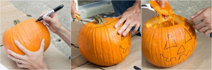 1001 Ideas De Decoración Con Calabazas De Halloween Decoraciones De Calabaza Calabazas De Halloween Como Hacer Calabazas