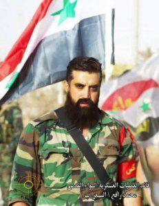Командующий отрядами палестинских добровольцев Лива-аль-Кудс - Мохаммед Рафи