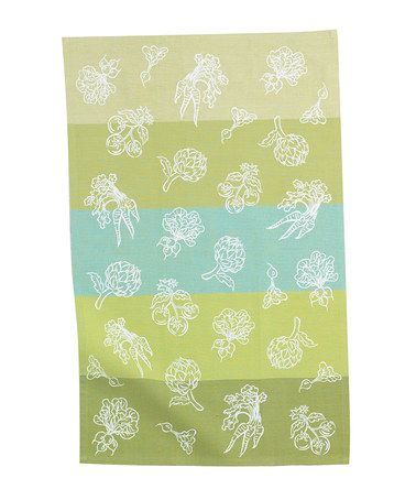Take a look at this Veggies Tea Towel - Set of Two by Kay Dee Designs on #zulily today!