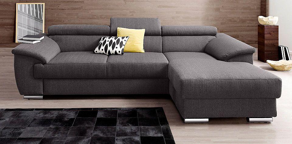 Places of Style Polsterecke, wahlweise mit Bettfunktion Jetzt - gemütliches sofa wohnzimmer