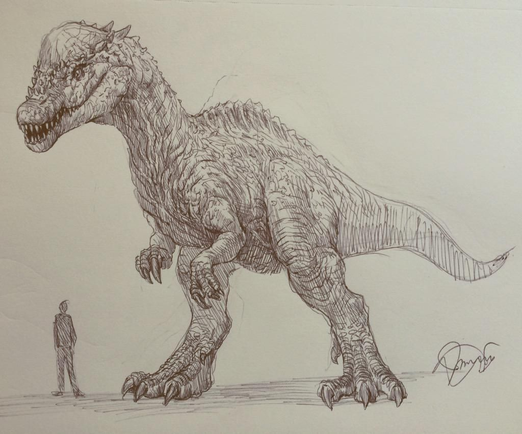 Jaroslav Kosmina On Twitter In 2020 Creature Drawings Dinosaur Art Prehistoric Animals