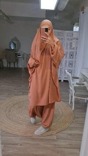 Jilbab 2pièces avec sarouel mode islamique