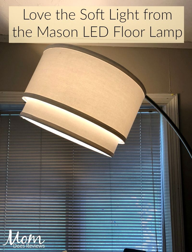 Light Up A Room With A Mason Led Floor Lamp From Brightech