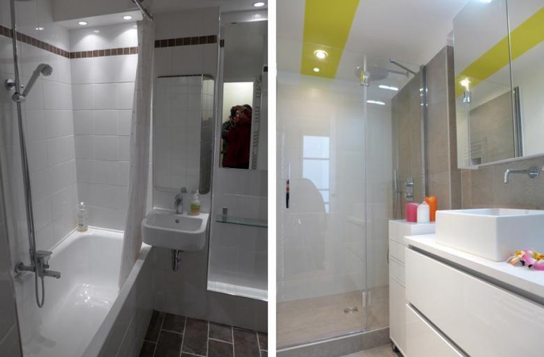r novation d une salle de bain par un architecte d int rieur marseille deco sdb chambre bas. Black Bedroom Furniture Sets. Home Design Ideas