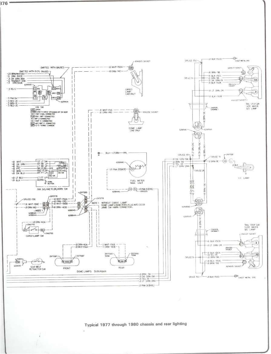 78 Chevy Truck Wiring Diagram And Complete - Wiring Diagrams