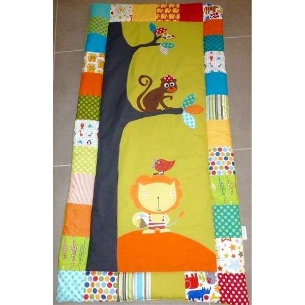 couverture bébé jungle Couverture bébé sur mesure