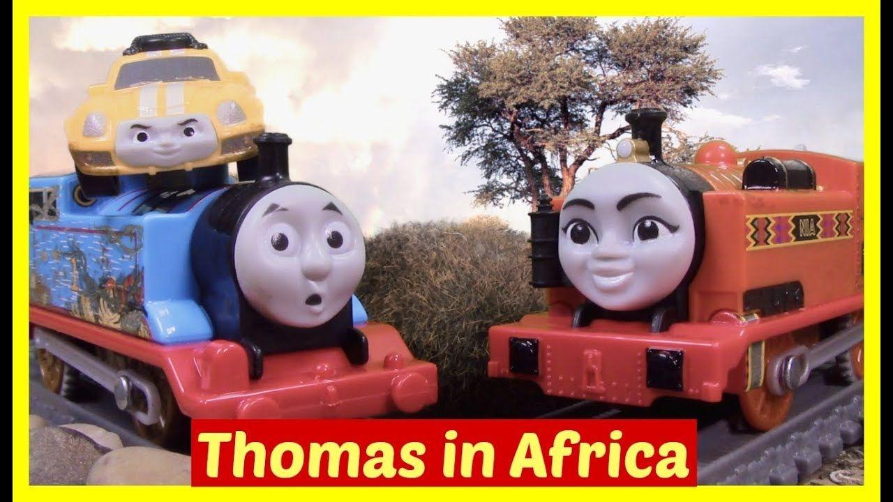 Thomas And Friends Big World Big Adventures Thomas And Nia In Africa Thomas And Friends Big Adventure Toy Train