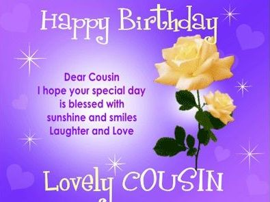 Happy Birthday Wishes For Cousin Sister Birthday Messages Images And Quotes Happy Birthday