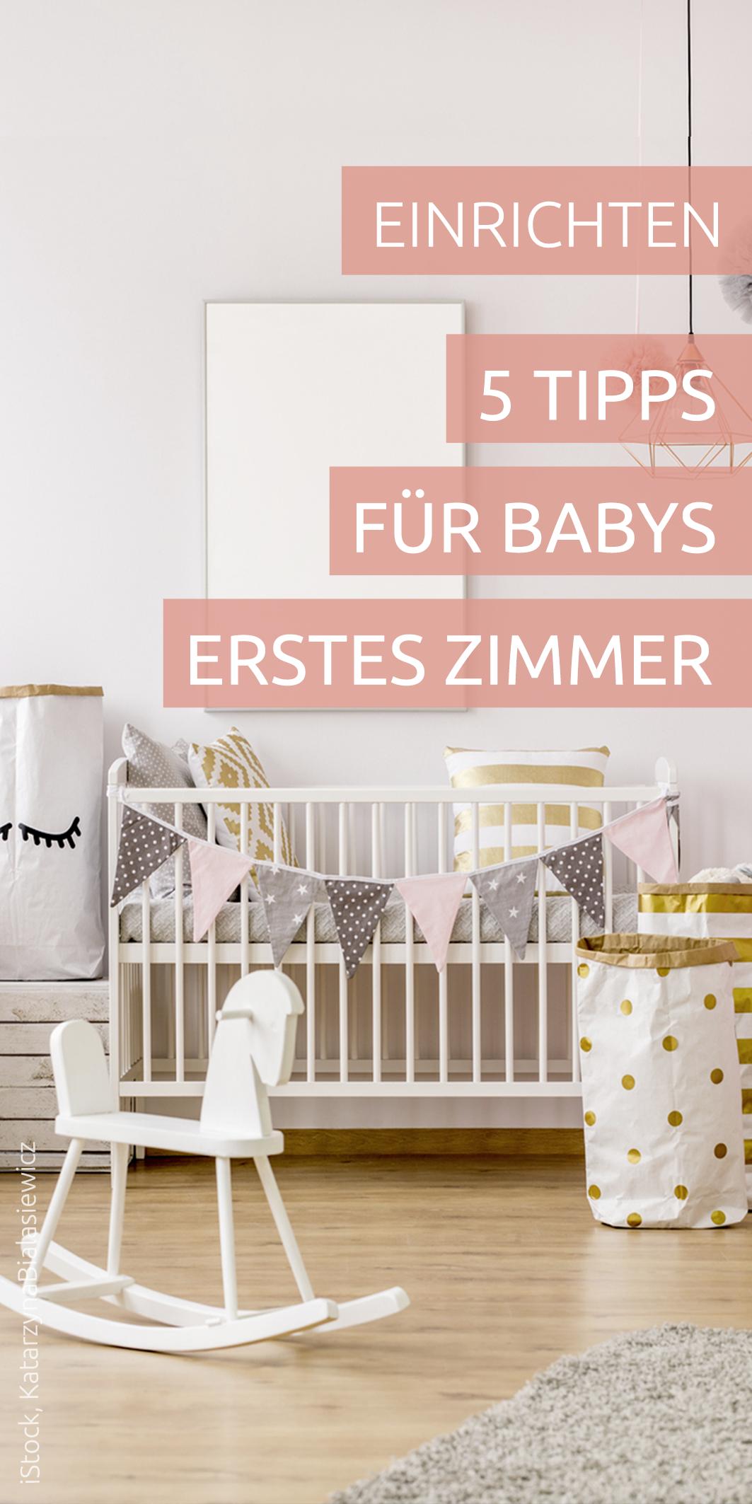 Babyzimmer einrichten: Was muss ich beachten? | Wohnen mit Kindern ...