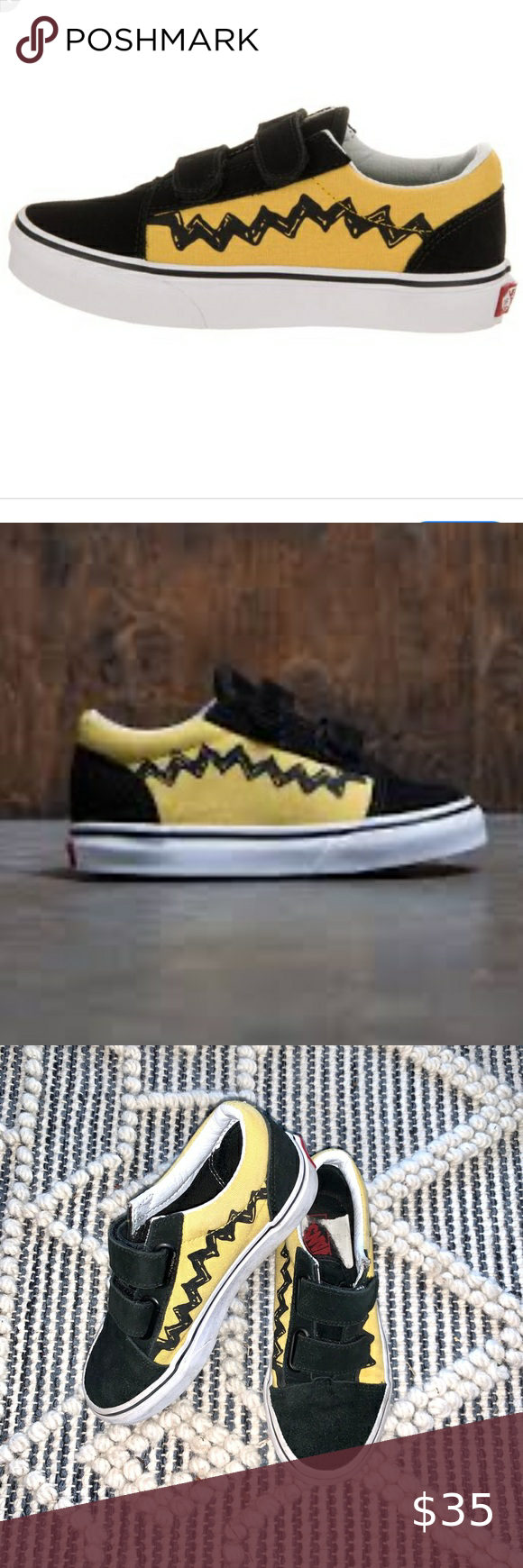 Vans x Peanuts Old Skool Charlie Brown Sneakers in 2020