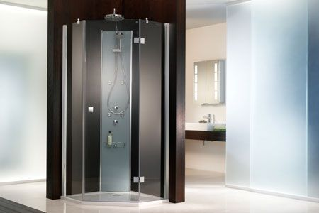 HSK Atelier Pentagon Shower Enclosure Shower cubicles
