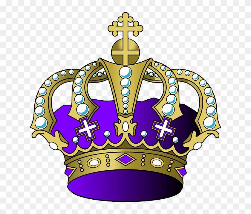 Find Hd Purple And Gold Crown Png Transparent Png To Search And Download More Free Transparent Png Images Crown Png Gold Crown Crown