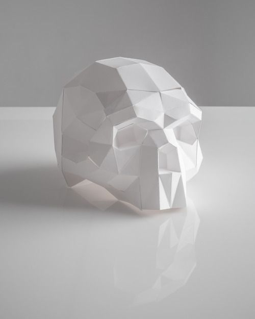 faceted skull - Buscar con Google