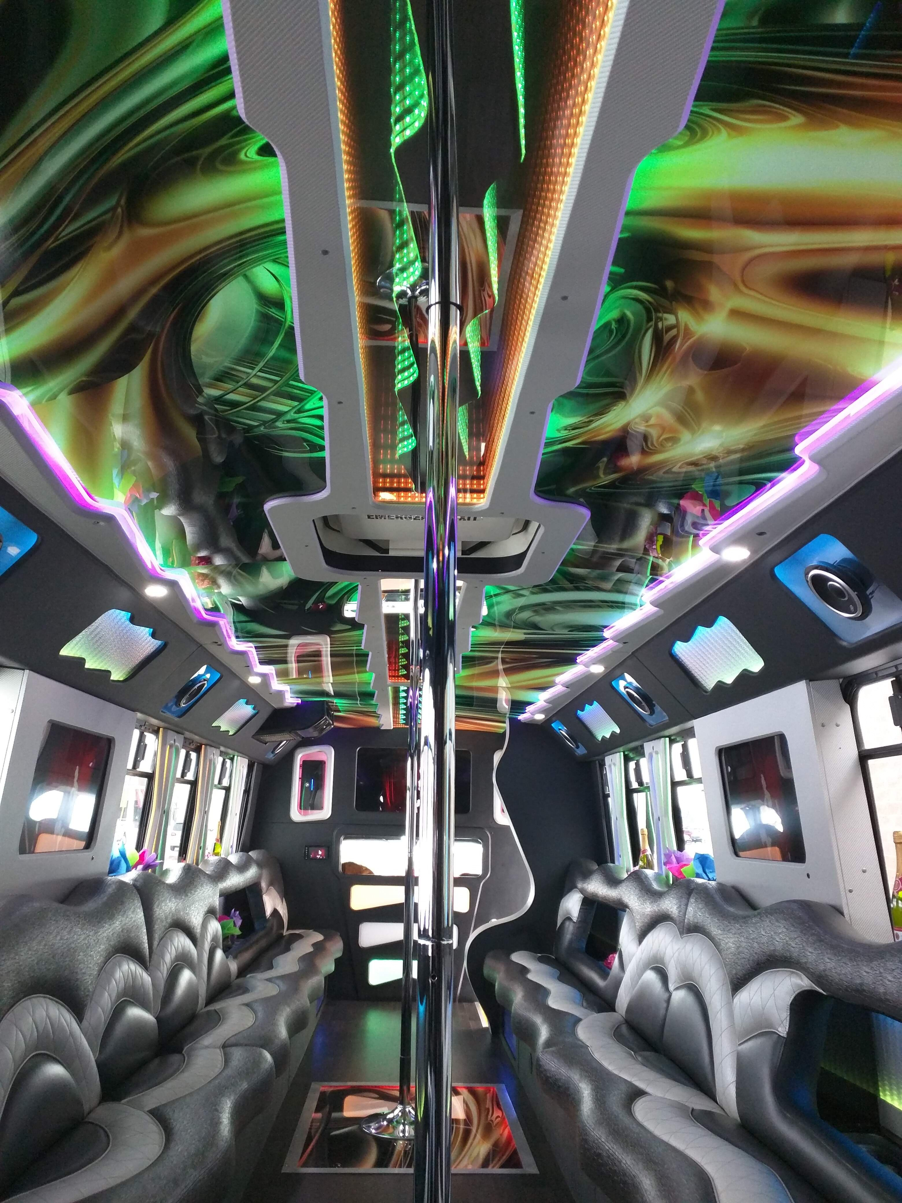 Vip Limo Bus Party Buses Limousine Transportation The