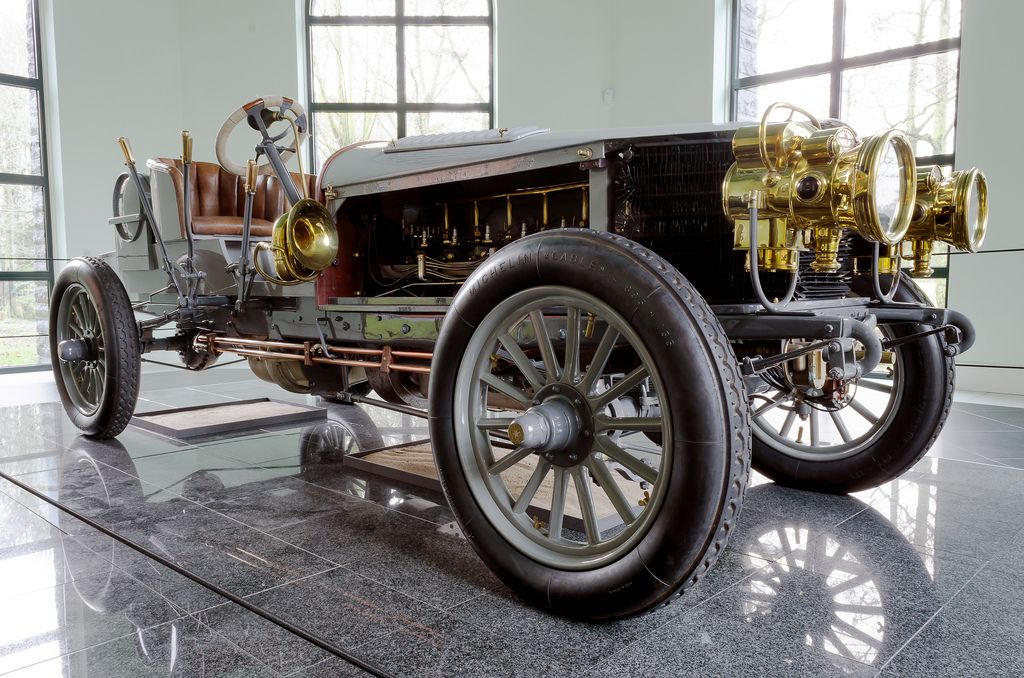 Spyker 60-HP Four-wheel Drive Racing Car 1903 | Car manufacturers ...