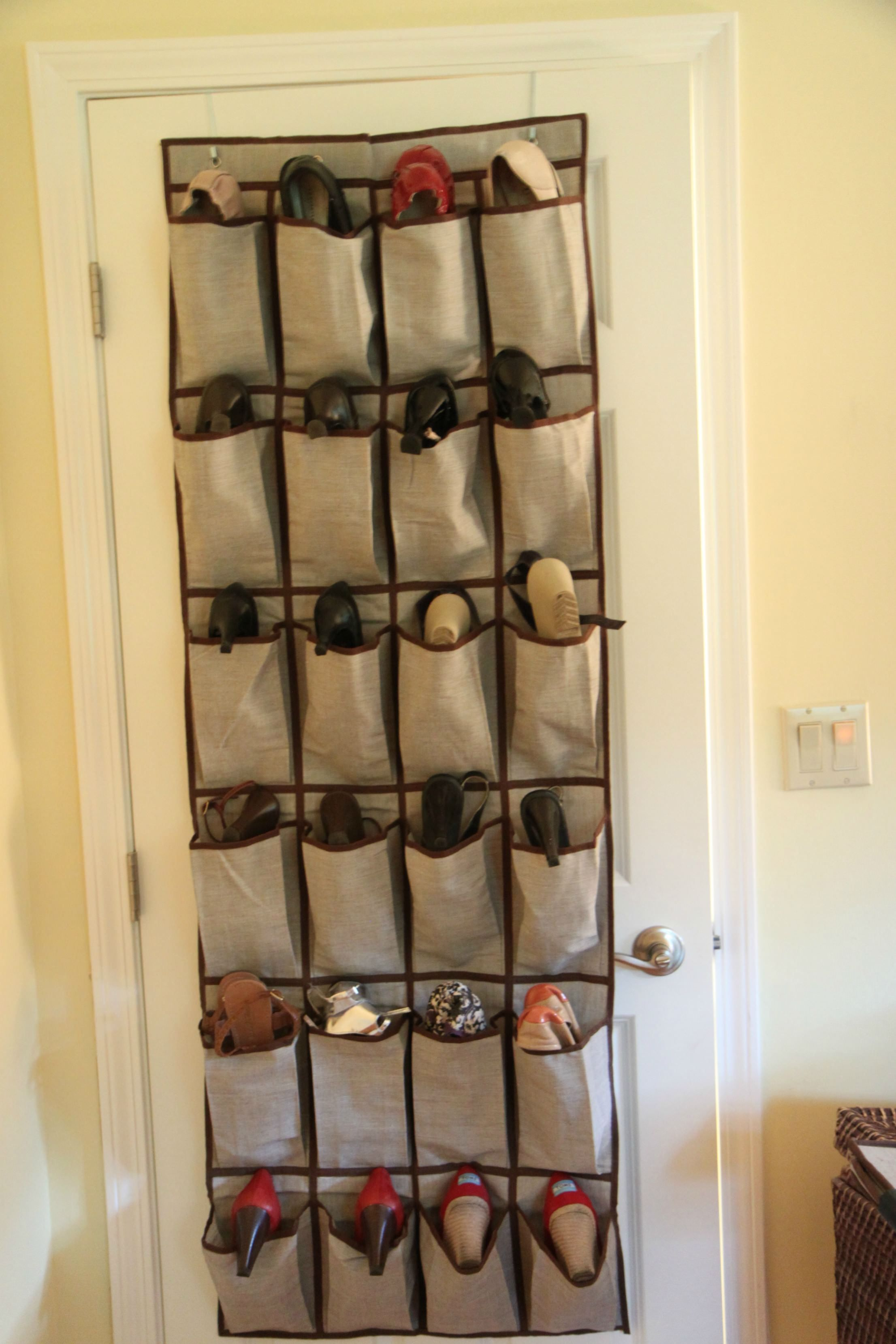 Closet Door Shoe Hanger
