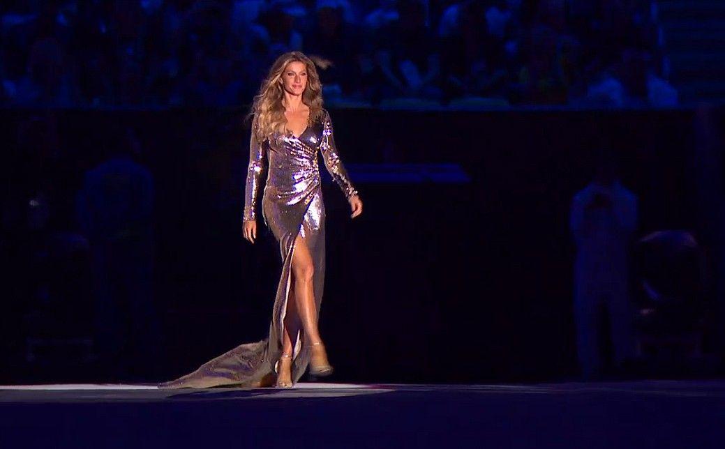 Os looks das modelos na abertura da Olimpíada do Rio de Janeiro
