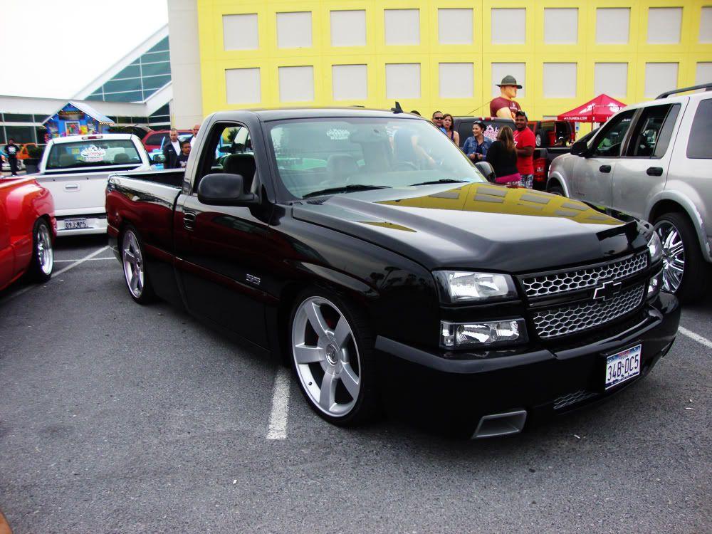 2006 chevy silverado ss clone