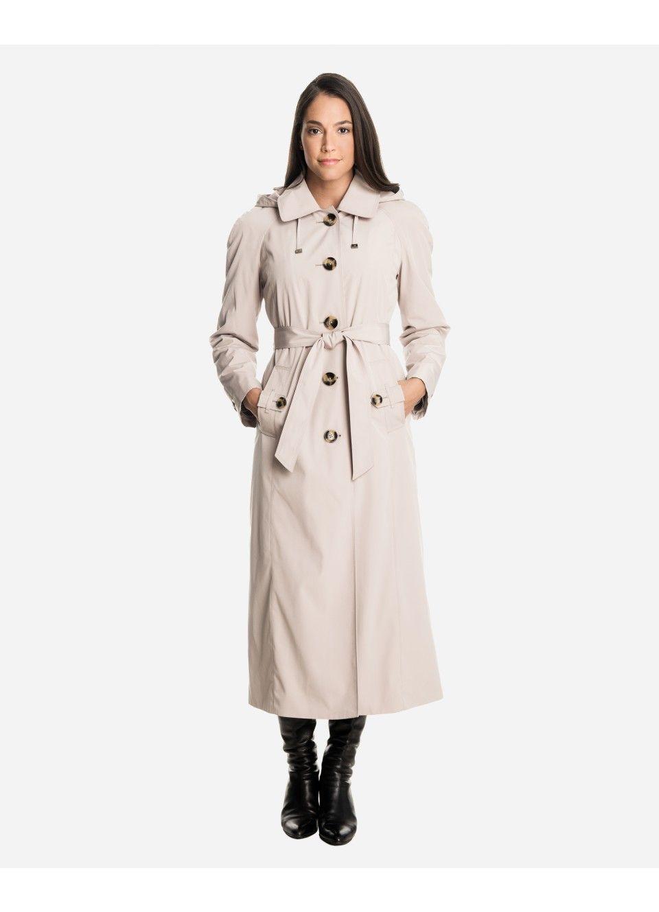 Sophia Women's Long Raincoat with Detachable Hood | London Fog: I wish it  came in