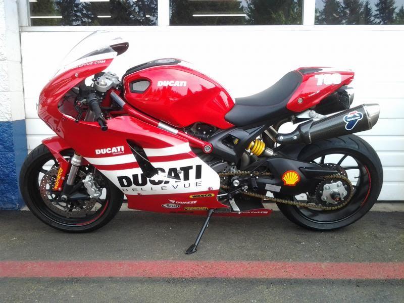 2011 With Desmosedici Race Fairing Clip Ons Rearsets Termi