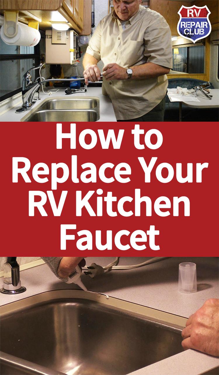 How To Remove Your Rv Kitchen Sink Mountainmodernlife Com Rv Kitchen Sink Rv Sink