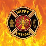 Pin Von Blacklady Auf Feuerwehr Happy Birthday Pinterest