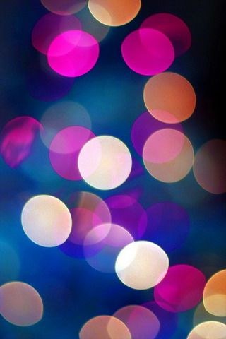 Download Colors Bubble Lights Iphone Wallpaper Mobile Wallpapers