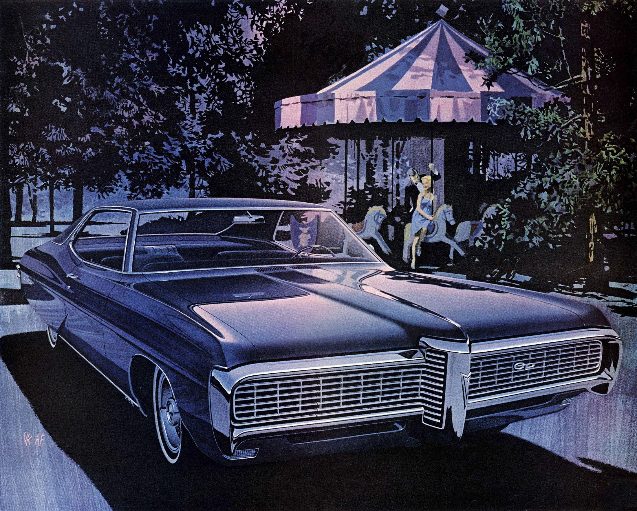 1968 Pontiac Grand Prix – 'Carousel': Art Fitzpatrick and Van Kaufman