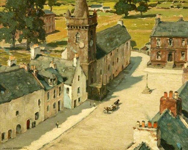 Charles Oppenheimer - The Old Tolbooth, Kirkcudbright, 1931