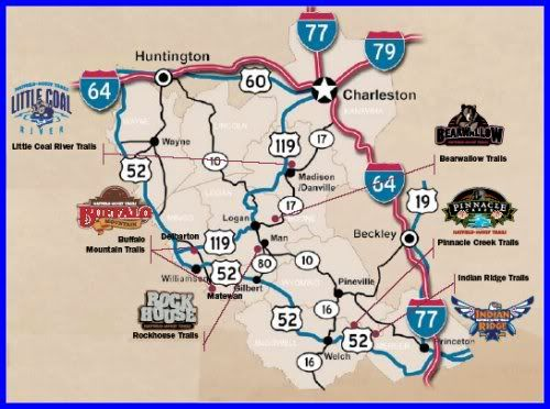 Areas You Can Atv In Southern California Map.Hatfield Mccoy Trail Map Hatfieldmccoytrail Do Travel Trail