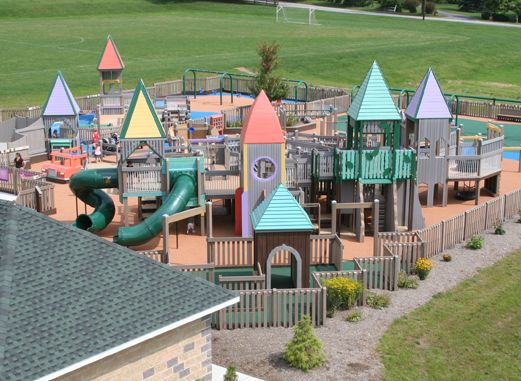 Mechanicsburg Pa Fully Accessible Playground Outdoor