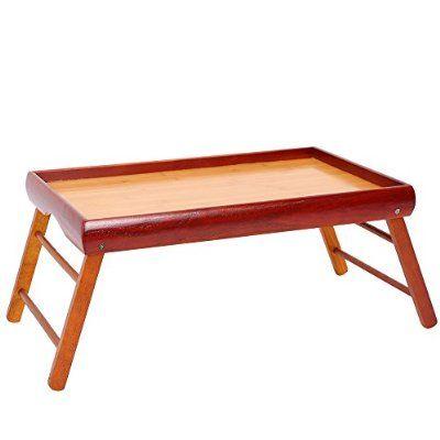 dinner tray wooden breakfast in bed foldable portable serving tv rh pinterest de