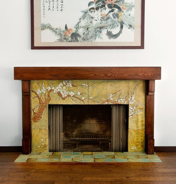 Tree Of Life Fireplace Surround: Cha-Rie Tang In 2019