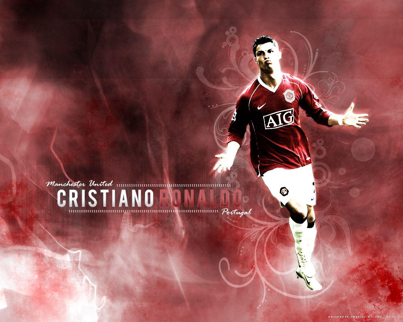 List of Nice Manchester United Wallpapers 2008 Cristiano Ronaldo | Cristiano Ronaldo: September 2008