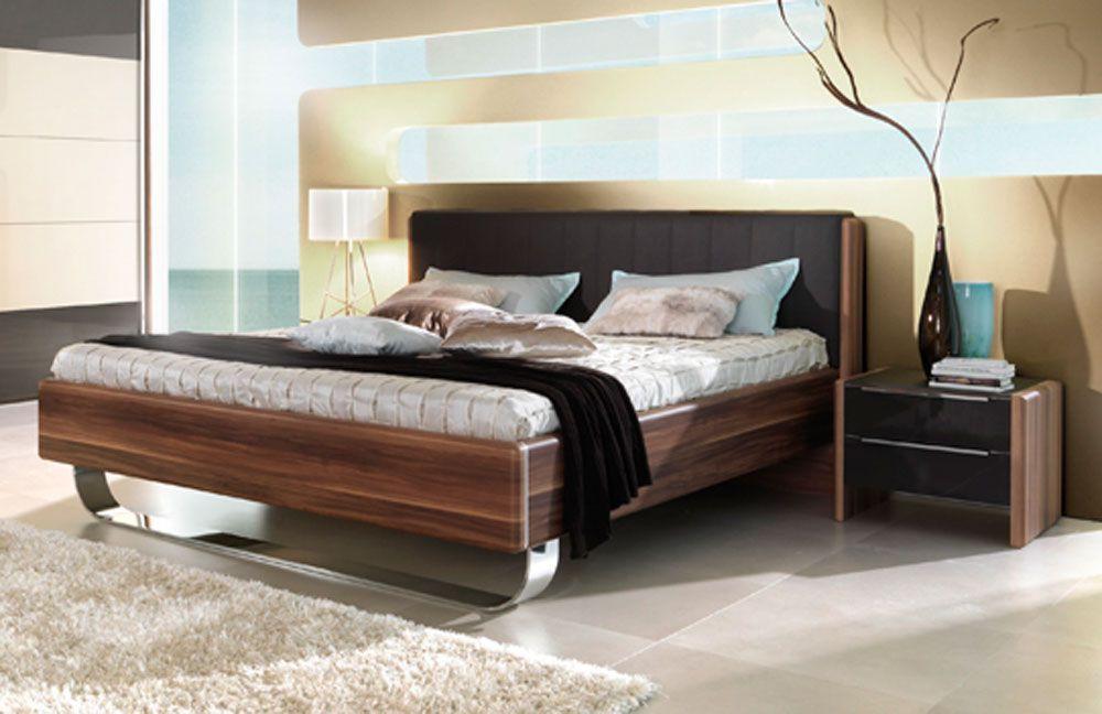 Spectacular Insua von Wellem bel Schlafzimmer Walnuss Hochglanz