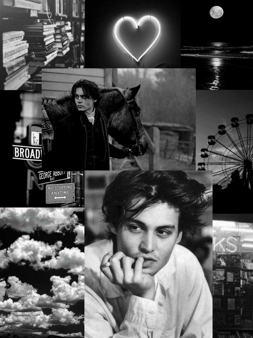 Black And White Young Johnny Depp Aesthetic Wallpaper Young Johnny Depp Johnny Depp Johnny Depp Wallpaper