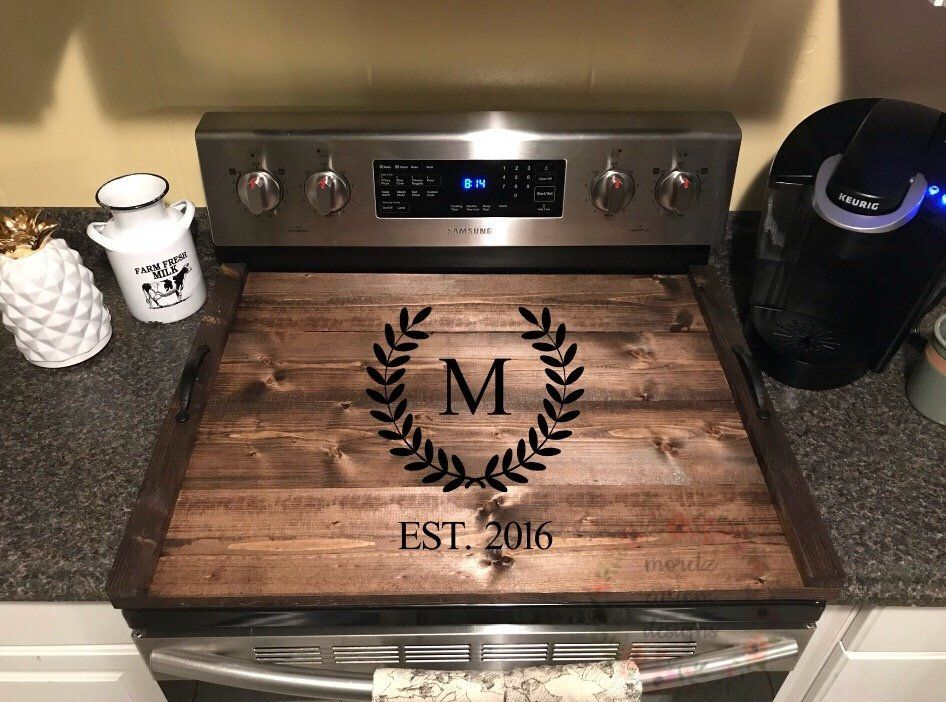 stove top cover serving tray in 2019 moretzcustomdesigns stove rh pinterest com