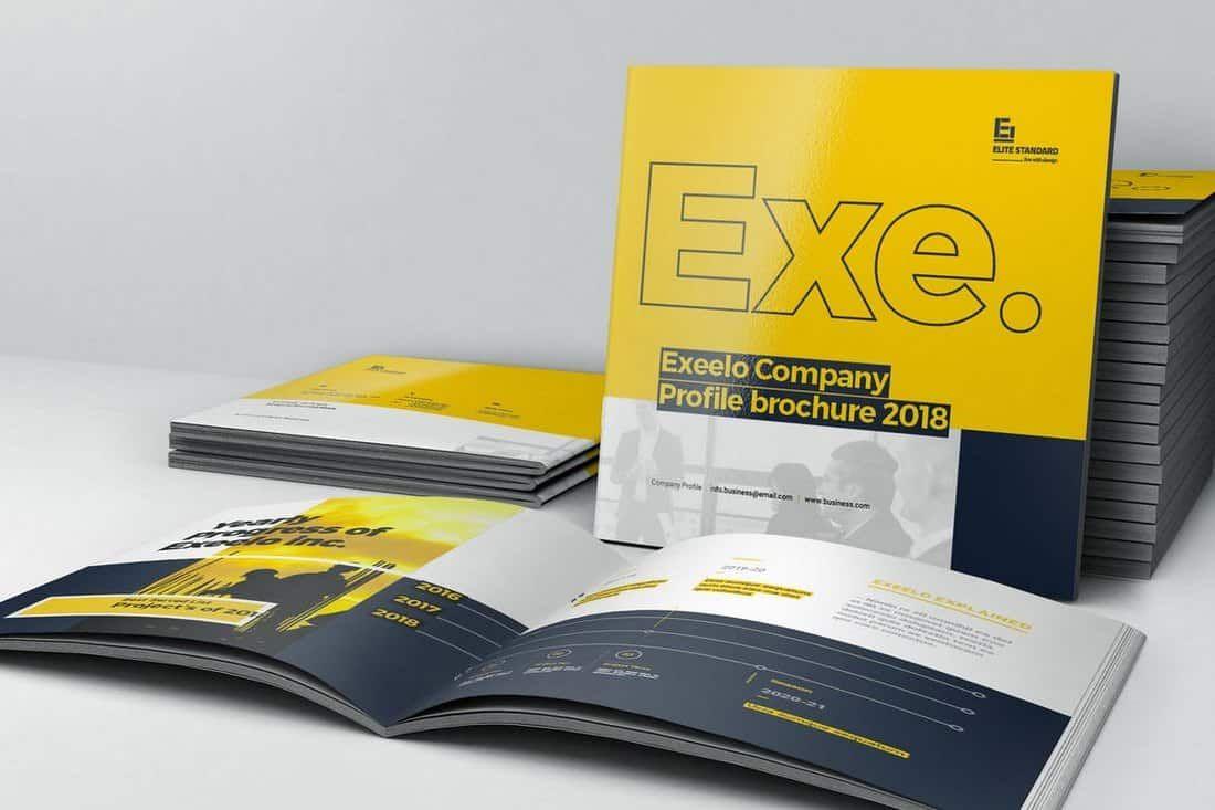 25+ Best InDesign Brochure Templates | Design - Graphic